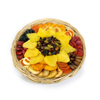 Willow Round Fruit and Nut Tray