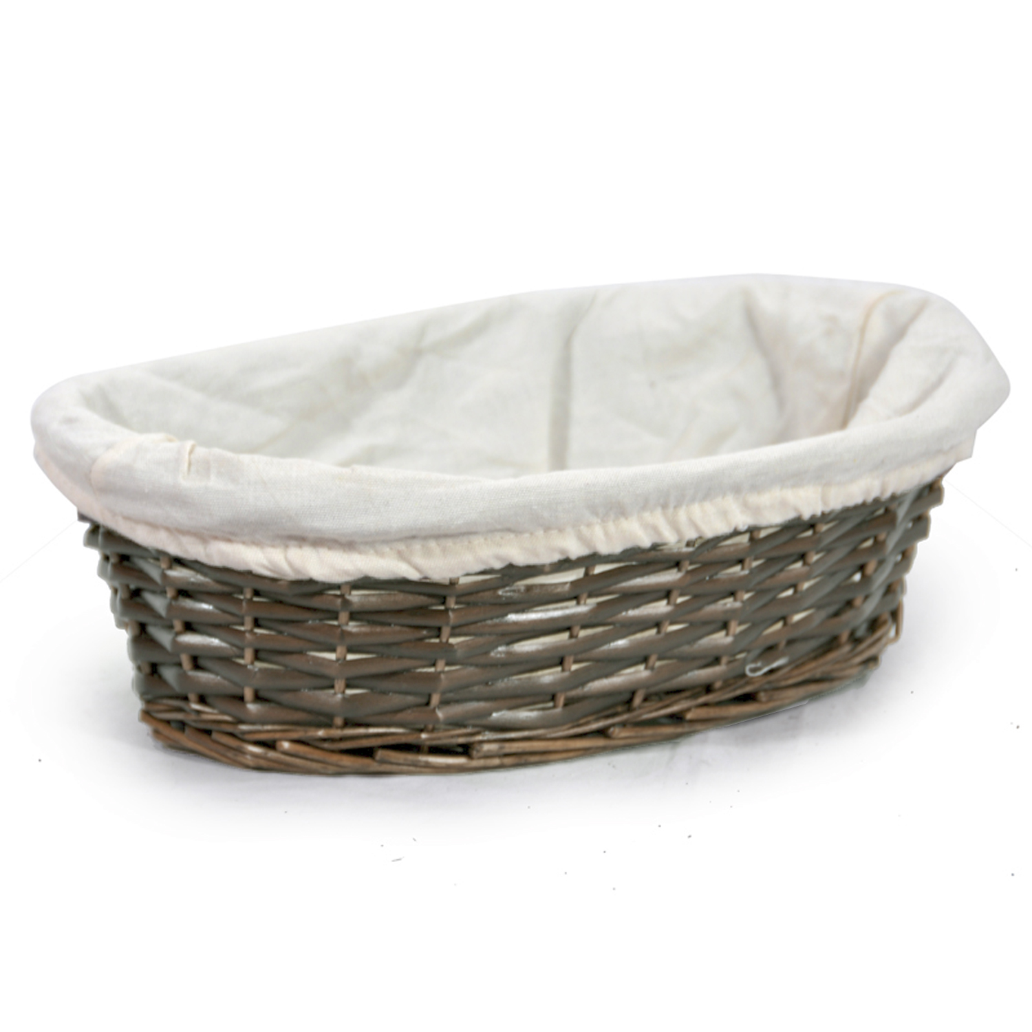 Savannah Medium Oval Utility with Cloth Liner Basket 11in