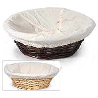Savannah Large Round Utility with Cloth Liner