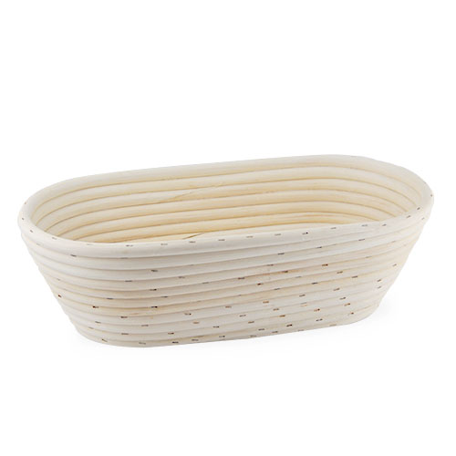Artisan Collection Oblong Proofing Basket - Wide 9in