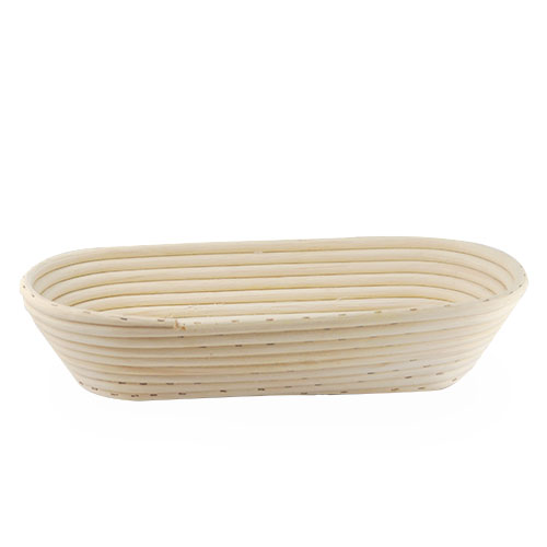 Artisan Collection Long Oblong Proofing Brotform Basket 13in