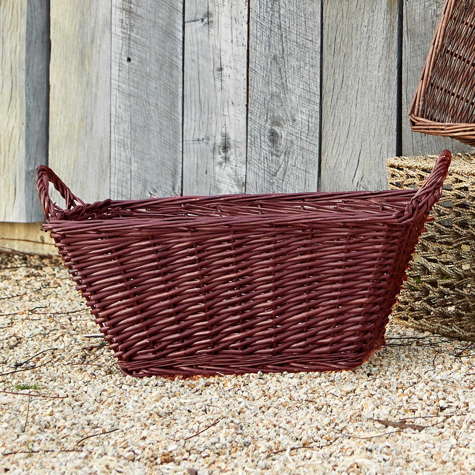 Avery Rect Utility Basket with Handles - Large 21in
