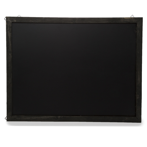 Wooden Chalkboard Display Sign for Wall - Large 19in