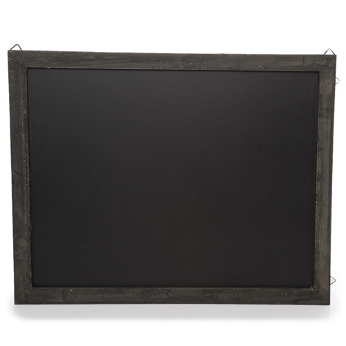Wooden Chalkboard Display Sign for Wall - Medium Wide 17in
