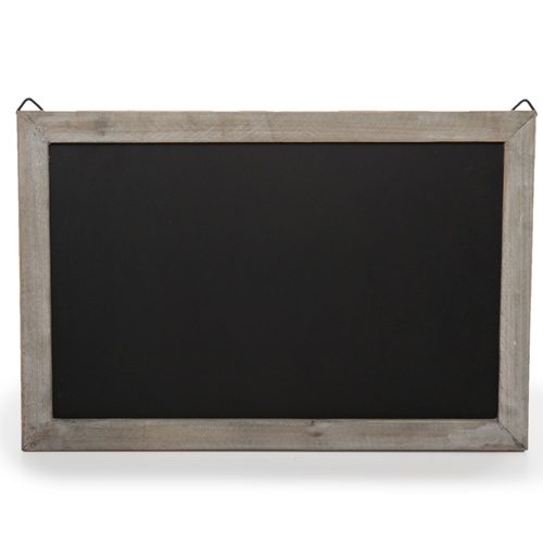 Wooden Chalkboard Display Sign for Wall - Small 13in