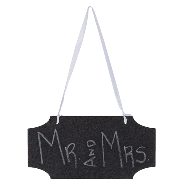 Hanging Chalkboard Sign Horizontal - Large 10in