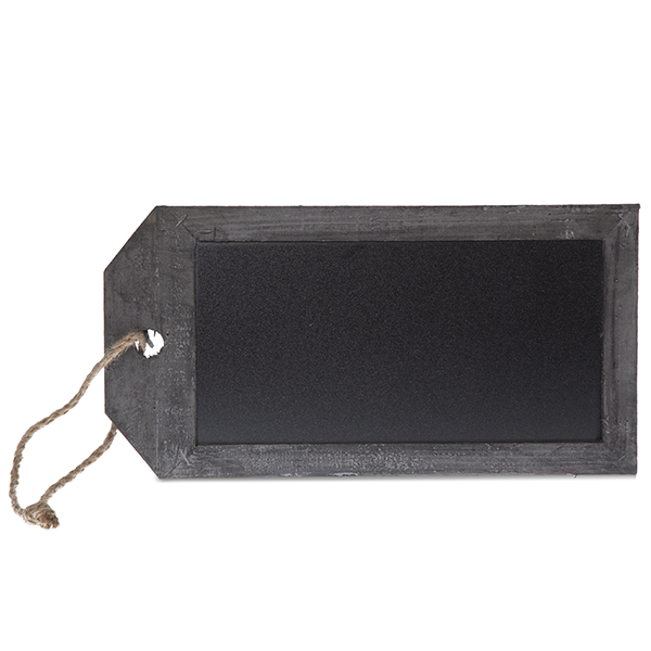 Chalkboard Tag - Medium 9in