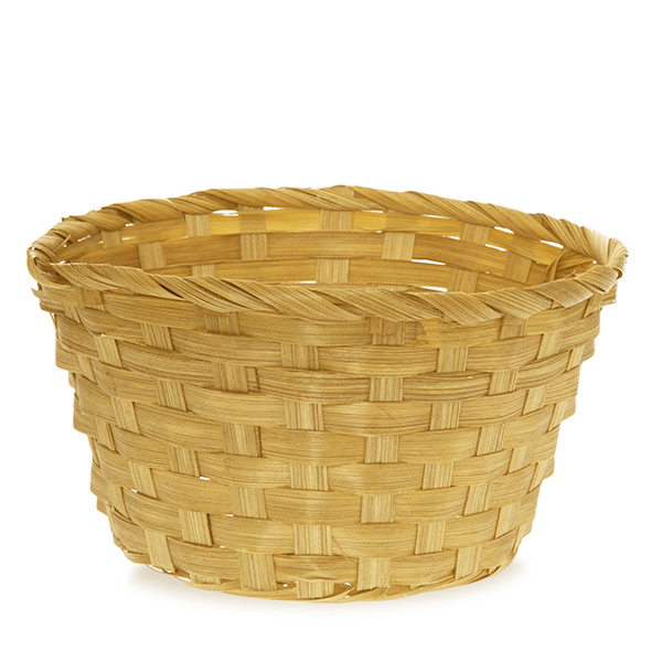 Round Bamboo Utility Basket - 8in