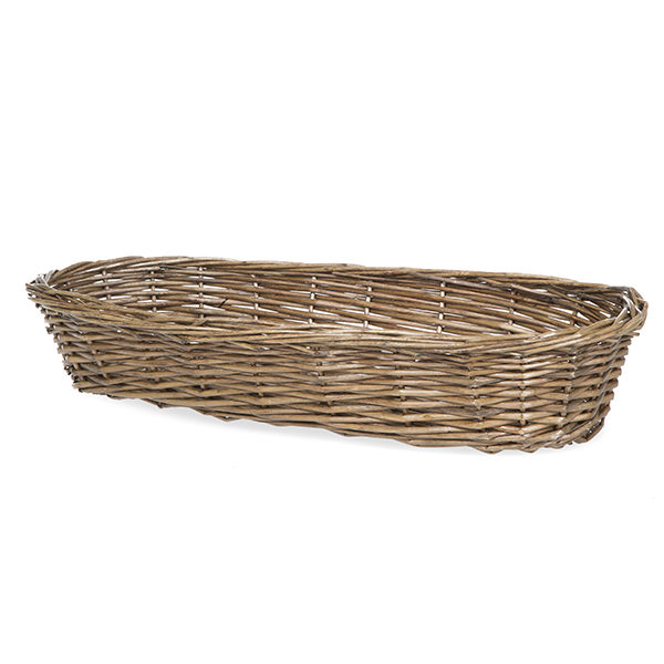 Willow Large Bread Basket 18in