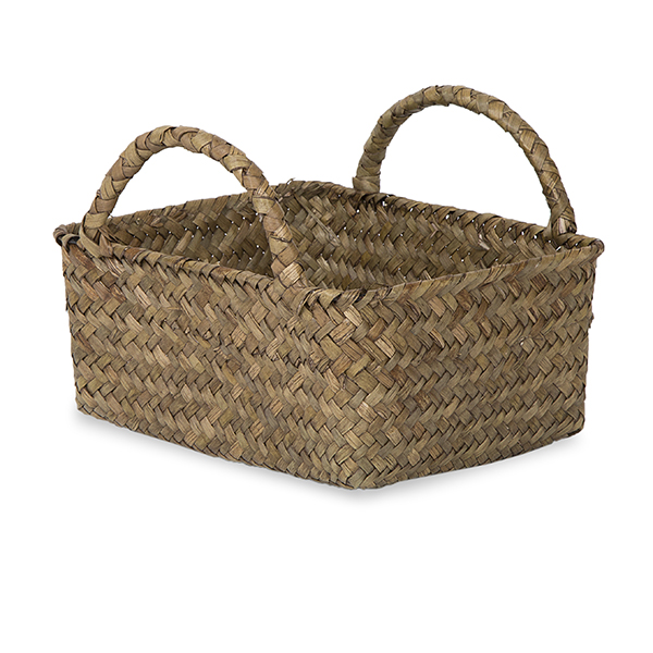 Alexa Utility Basket with Side Handles Natural 6in
