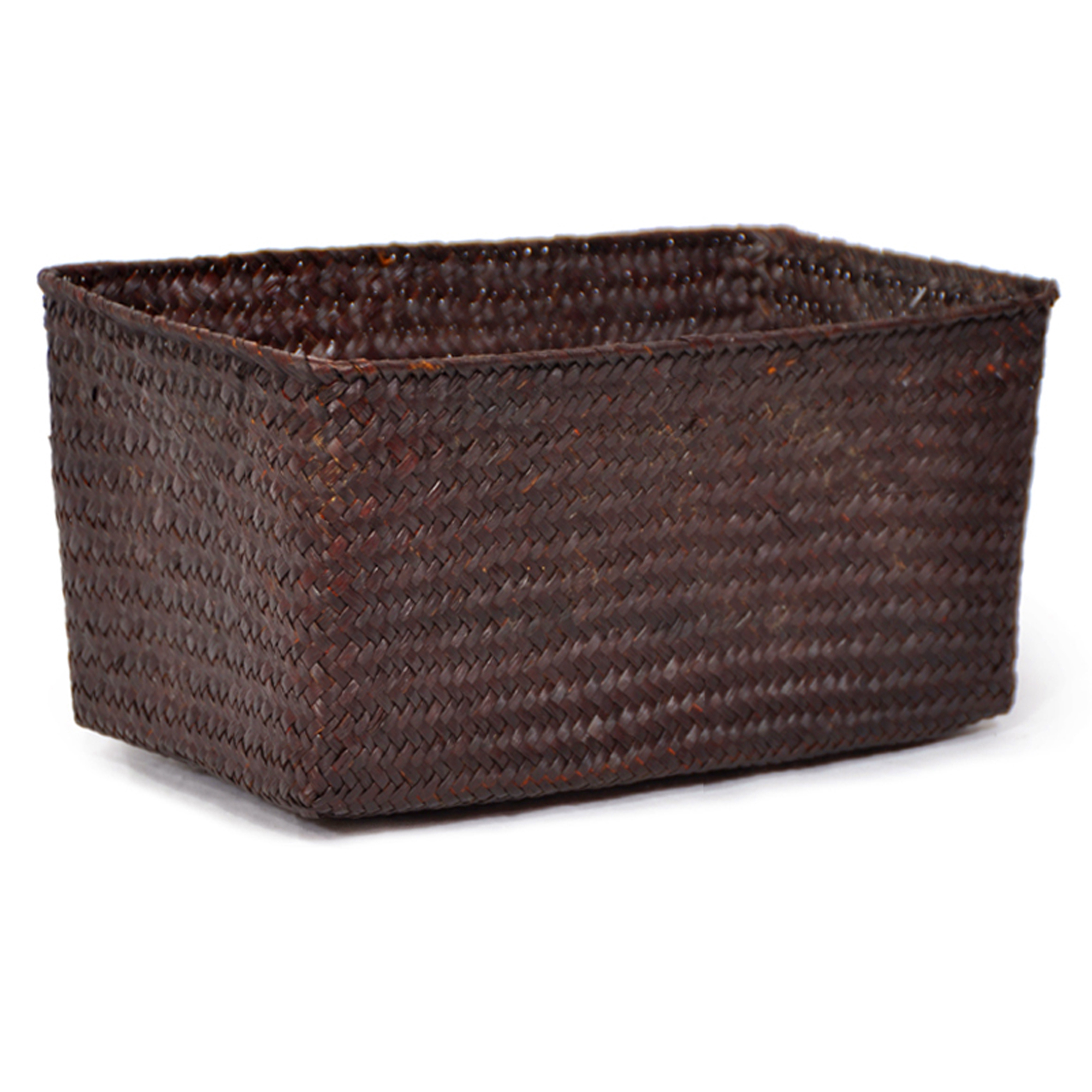 Alexa Utility Basket - Medium 13in- Mahogany