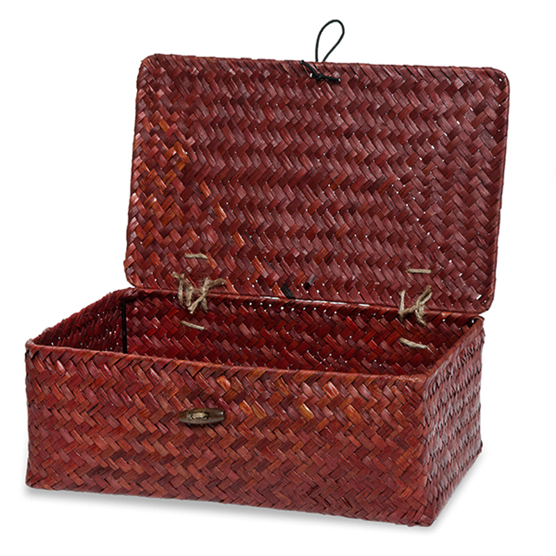 Alexa Keepsake Storage Box with Lid Medium - Red 10in
