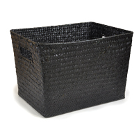 Alexa Small Utility Basket - Black