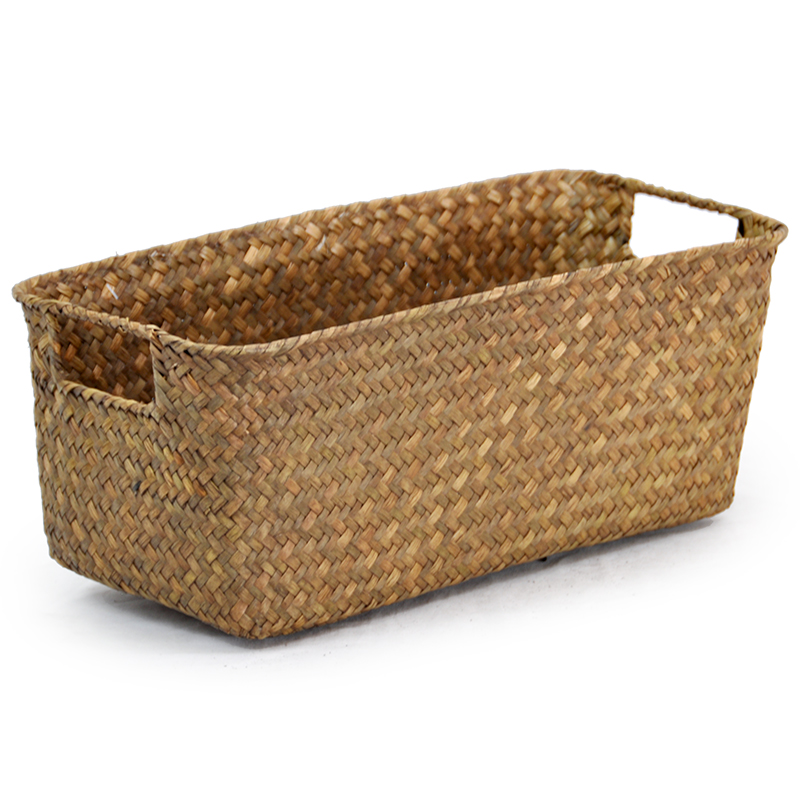 Alexa Rectangular Utility Shelf Basket - Natural 14in