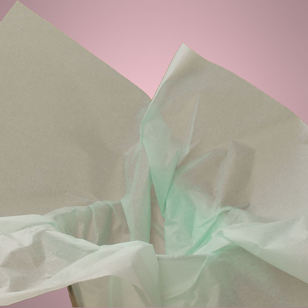 Colored Tissue Paper - Cool Mint The Lucky Clover Trading Co.