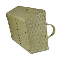 Rectangular Paper Fiber with Handle