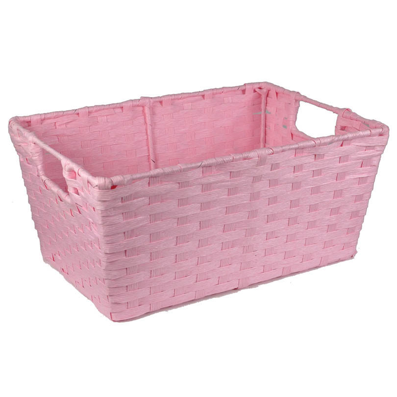 Rectangular Paper Fiber Storage In-Handle - Small 12in  sc 1 st  The Lucky Clover Trading Co. & Wholesale Wicker Baskets - The Lucky Clover Trading Co.