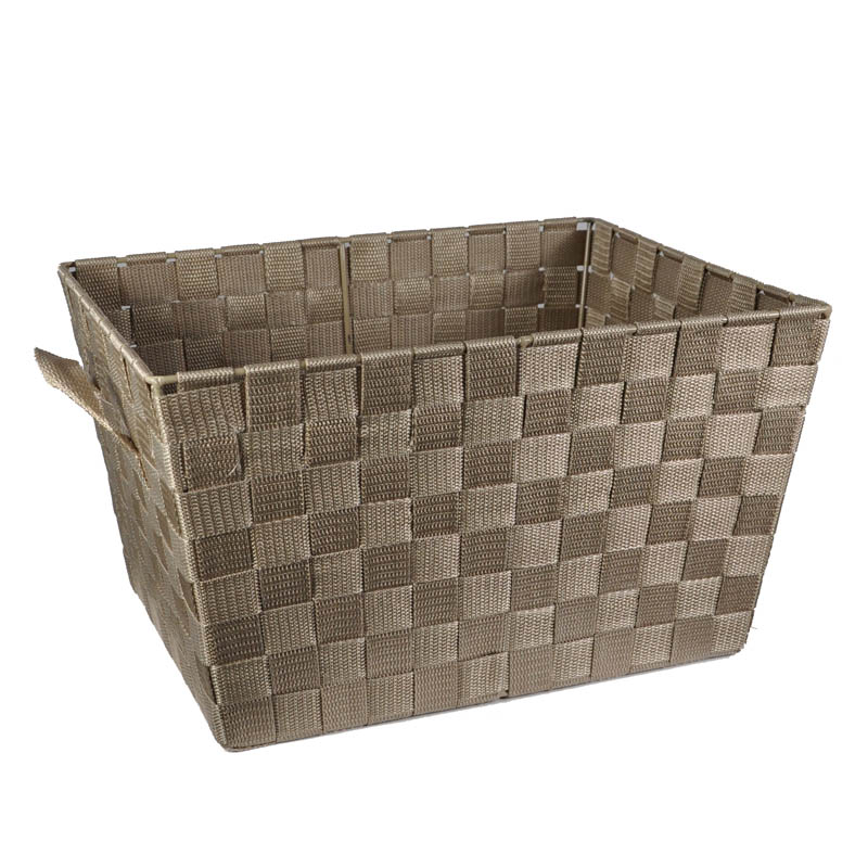 Sophia Simple Storage Basket 14in