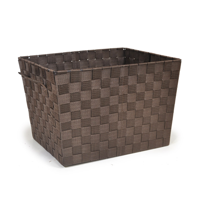 Sophia Simple Storage - Chocolate 14in
