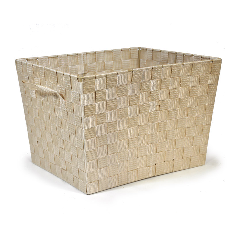 Sophia Simple Storage - Beige Ivory 14in