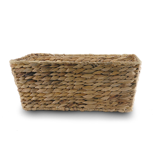 Audrey Natural Rush Storage Basket Medium 15in
