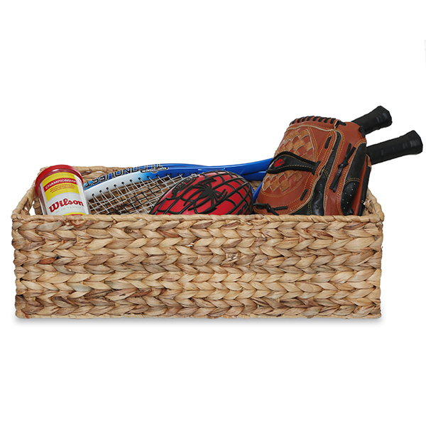 Audrey Natural Rush Utility Basket with In Handles - XL 21in