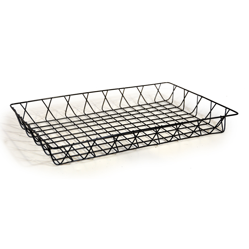Rectangular Wire Tray Basket 17in