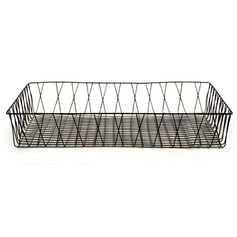 Rectangular Wire Tray Basket - Large The Lucky Clover Trading Co.