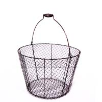 Stella Copper Brushed Mesh Bucket with Swing Handle