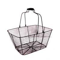Stella Copper Brushed Rectangular Wire with Swing Handle