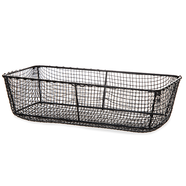 Rectangular Wire Mesh Tray 8in
