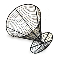 Stella Inverted Cone Wire Basket