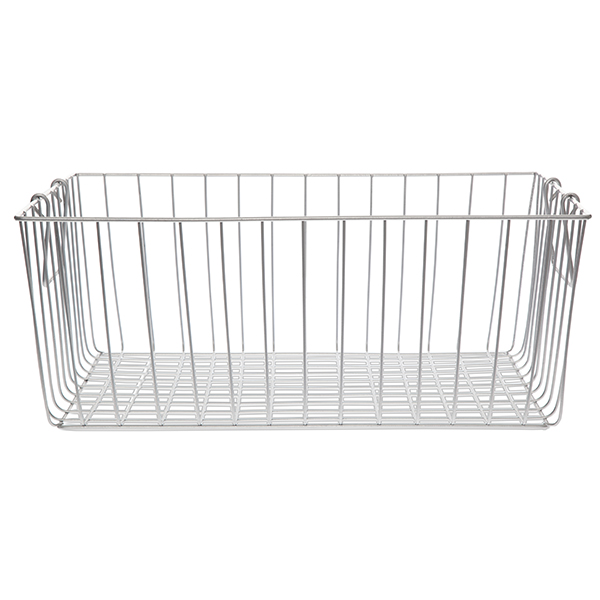 Stella Rect Wire Basket with Swing Handle - Large 16in