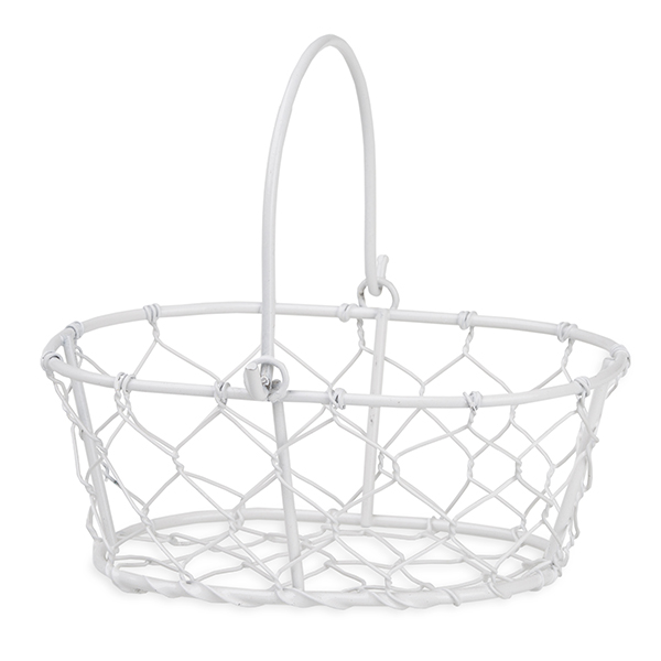Stella Mini Oblong Handle Basket 5in