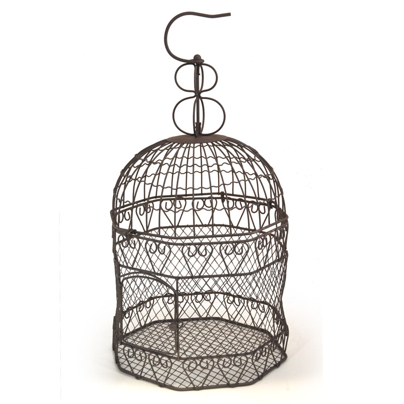 Voliere Octagon Wire Birdcage 8in Diameter