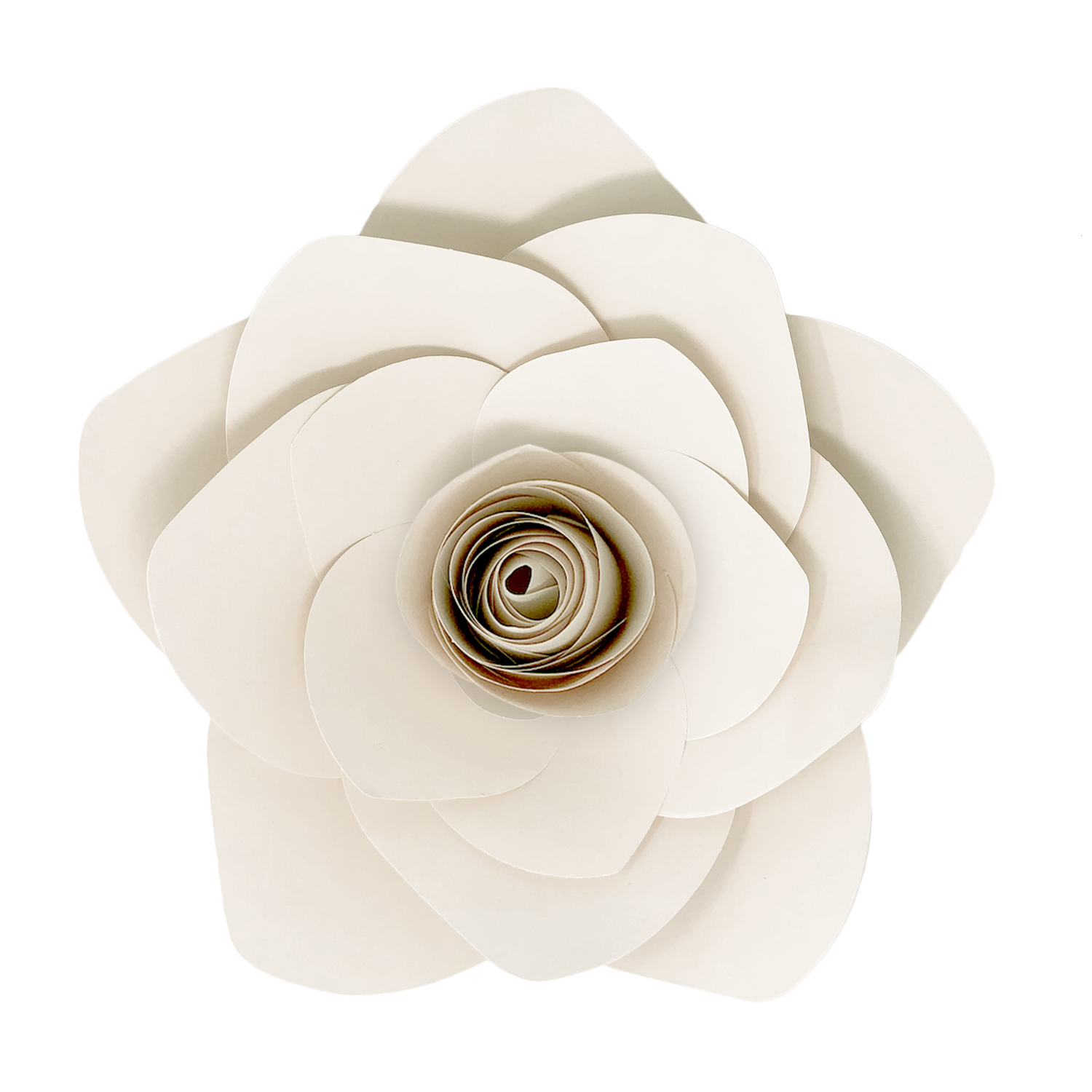 DIY Paper Flower Blossom White - Large 13in