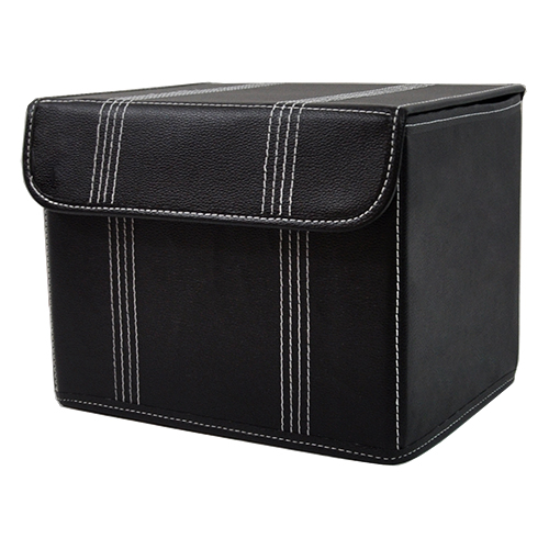 Roosevelt Collapsible Storage Box with Lid - Small 11in