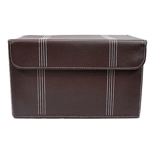Charmant Roosevelt Faux Leather Storage Box With Lid Collapsible   15in. Zoom. Thumb  Thumb Thumb ...