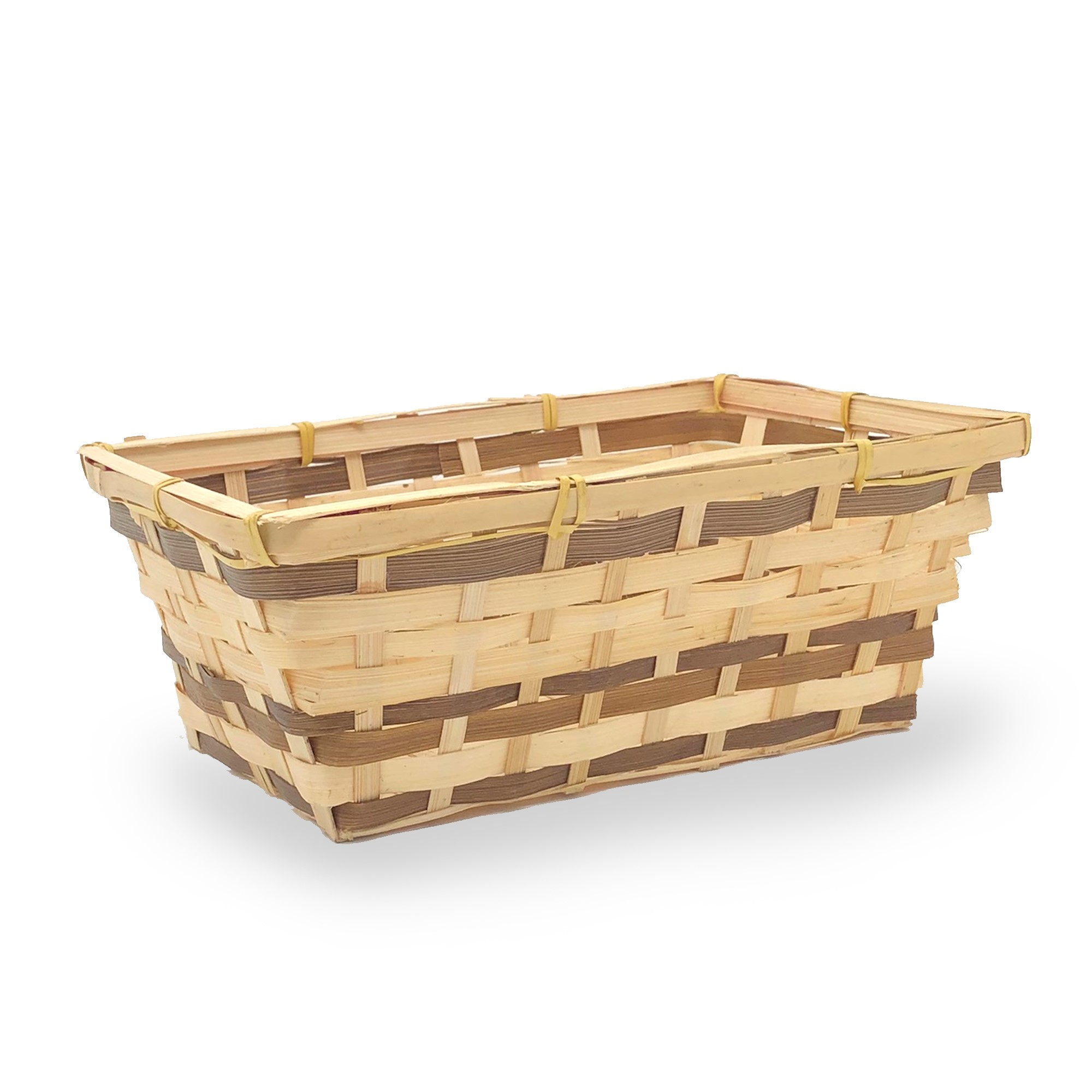 Rectangular Bamboo Utility Basket 10in