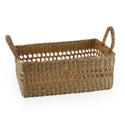 Natural Palm Utility Basket - Small 9in