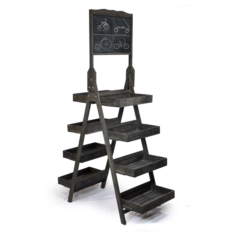 Display Tower With Chalkboard Double Sided The Lucky