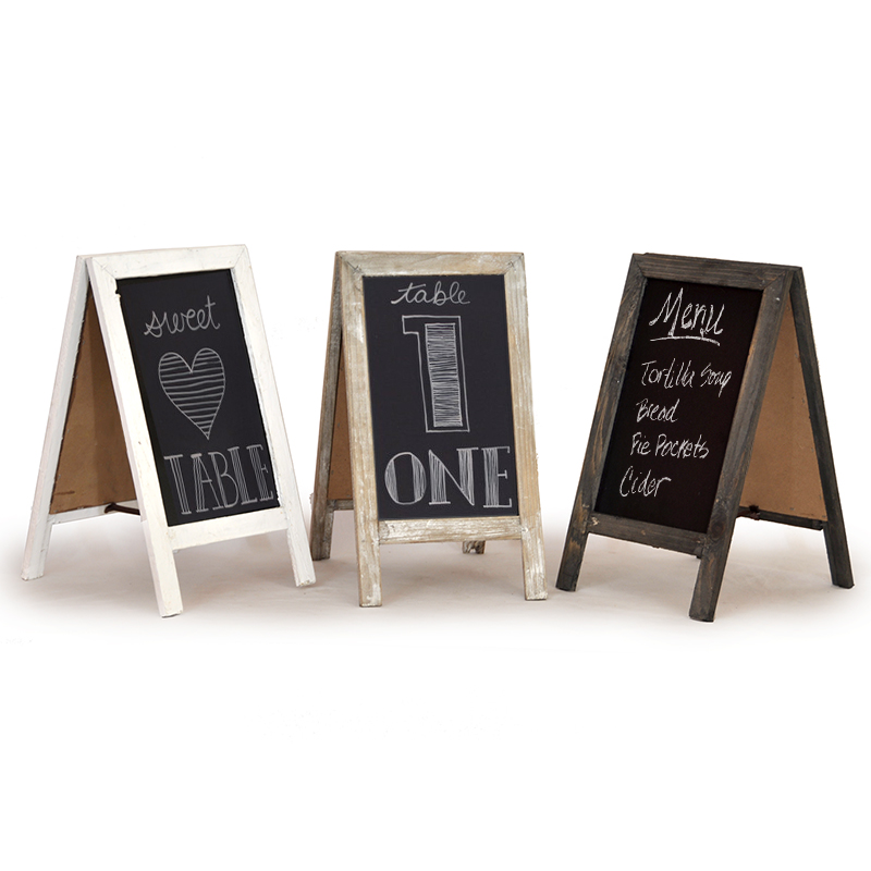 Retail Display Wooden Blackboard - Small 12in