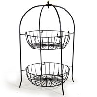 Stella Countertop Four Round Wire Stack Display