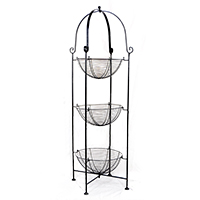 Stella Triple Round Metal Display Shelf