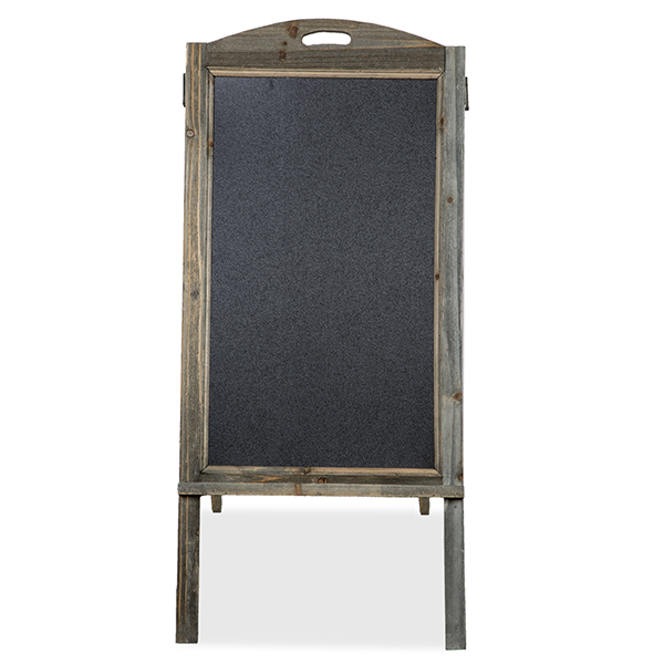 Retail Display Chalkboard Sign with Cut Out Handle