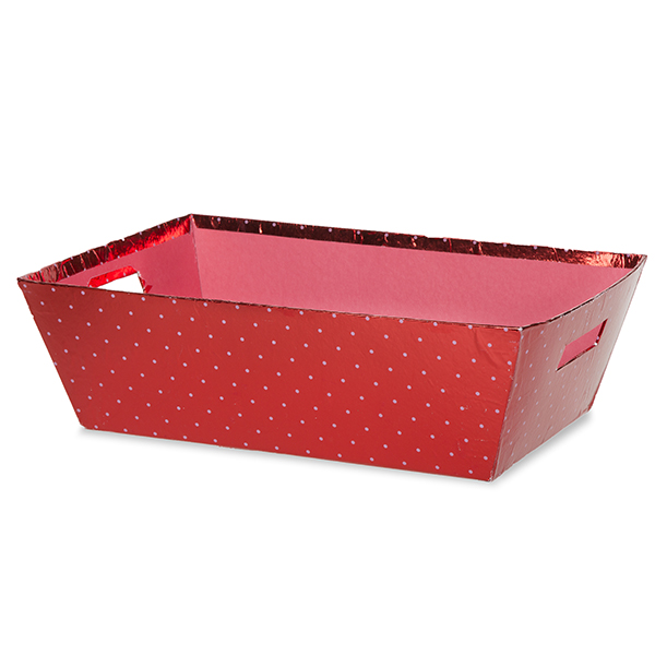Gift Tray Small - Polka Dots 9in