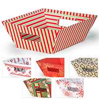 Gift Utility Square Large - Holiday II