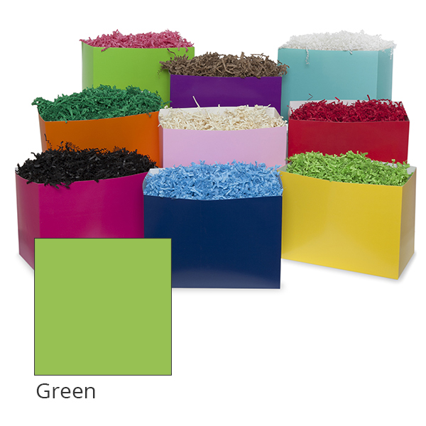 Small Colors Basket Box 7in- Green