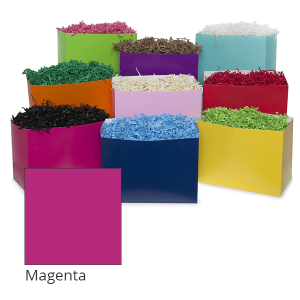 Small Colors Basket Box 7in- Magenta