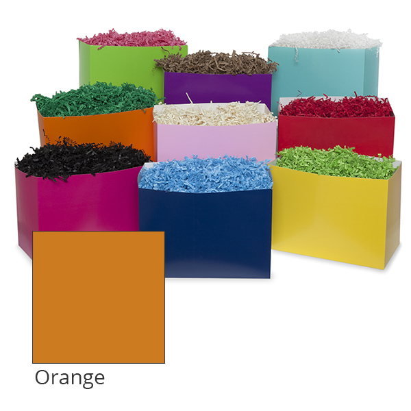 Small Colors Basket Box 7in- Orange